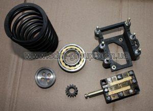 Подшипники NUB, гайки регулирующие, пружины тормоза, шестерни электродвигателя тележки, пульты управления.