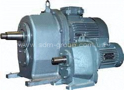 Мотор-редукторы цилиндрические. Тип 1МЦ2С (4МЦ2С)