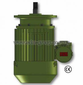 Электродвигатели серии KV-Ex для взрывозащищенных болгарских электротельферов.